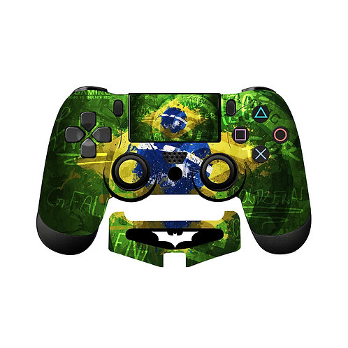 PS4 Brazil Skin For PlayStation 4 Controller