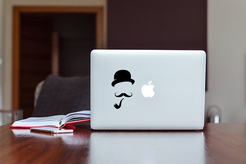 Pipe Decal Sticker For Laptop & MacBook
