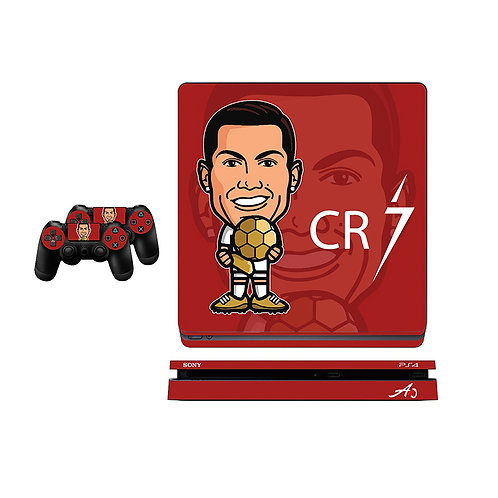 PS4 Slim CR7 #3 Skin For PlayStation 4