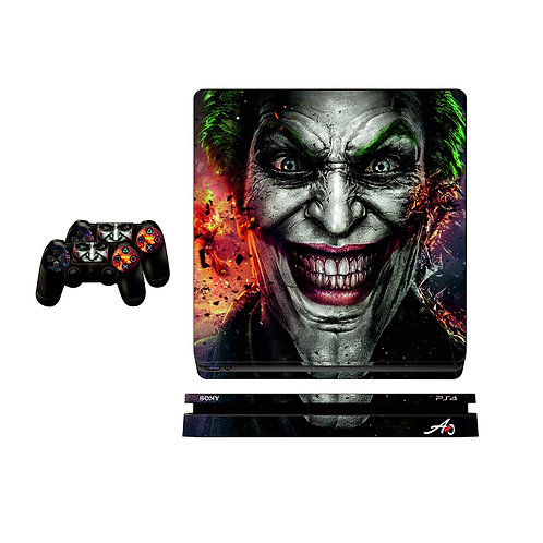 PS4 Slim Joker #1 Skin For PlayStation 4
