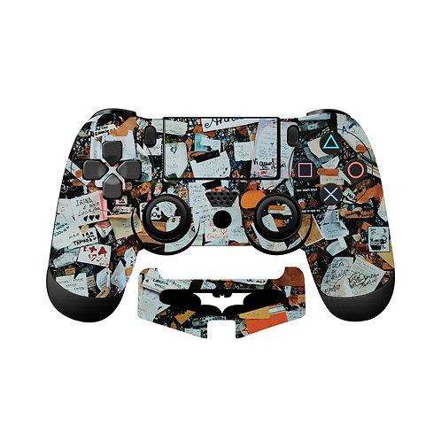 PS4 Artwork #5 Skin For PlayStation 4 Controller