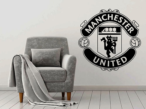 Manchester United FC Decal Wall Sticker