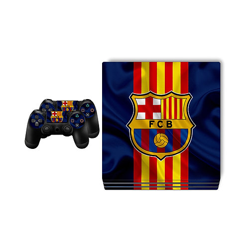 PS4 Pro FC Barcelona #5 Skin For PlayStation 4