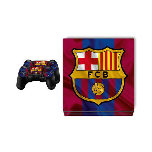 PS4 Pro FC Barcelona #3 Skin For PlayStation 4