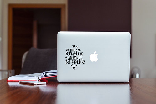 Quote #2 Decal Sticker For Laptop & MacBook