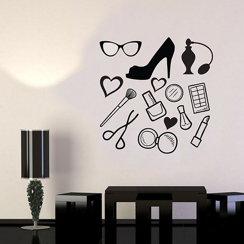 MackUp Kit Decal Wall Sticker