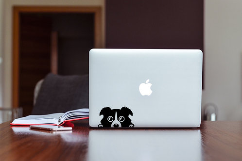 Cute Dog Decal Sticker For Laptop & MacBook