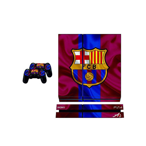 PS4 Standard FC Barcelona #3 Skin For PlayStation 4