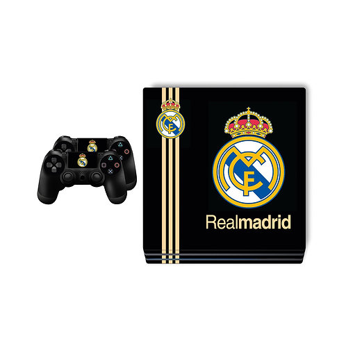 PS4 Pro Real Madrid CF #4 Skin For PlayStation 4