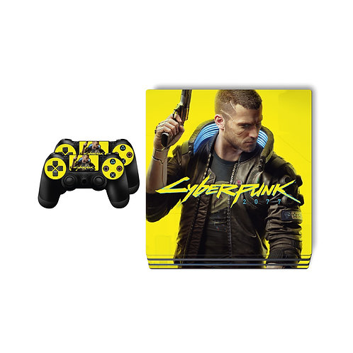 PS4 Pro Cyberpunk 2077 Skin For PlayStation 4