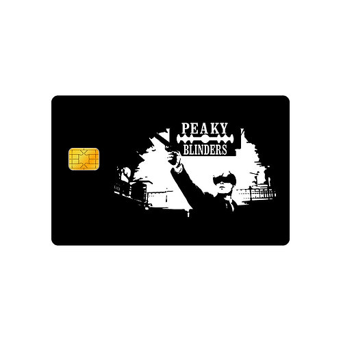 Peaky Blinders #2 Debit Or Credit Card Skin Sticker