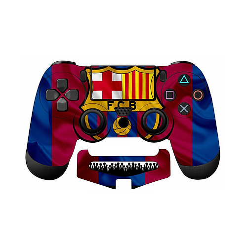 PS4 F.C Barcelona #3 Skin For PlayStation 4 Controller
