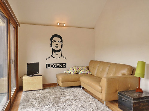 CR7 #4 Decal Wall Sticker