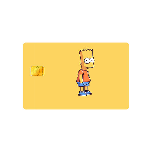 The Simpsons #1 Debit Or Credit Card Skin Sticker