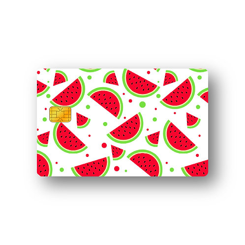 Watermelon #3 Debit Or Credit Card Skin Sticker