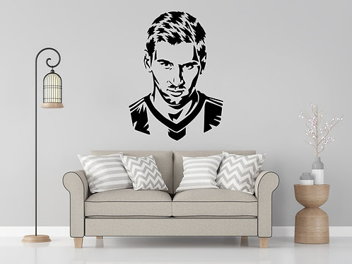 Leo Messi Decal Wall Sticker