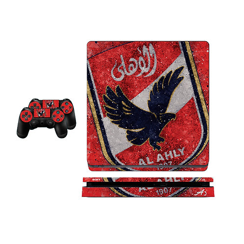 PS4 Slim Al Ahly SC #4 Skin For PlayStation 4