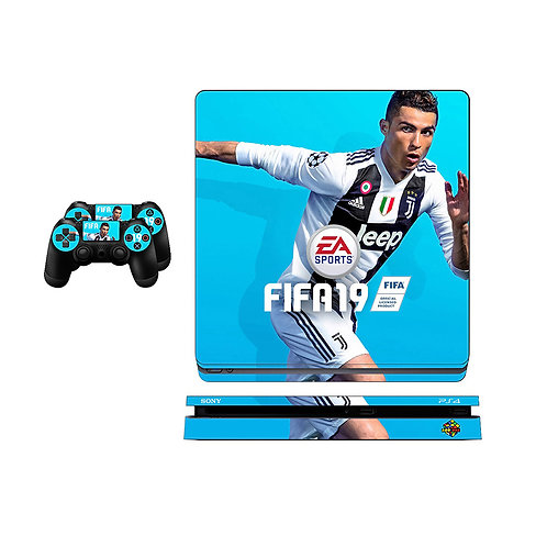 PS4 Slim CR7 #2 Skin For PlayStation 4