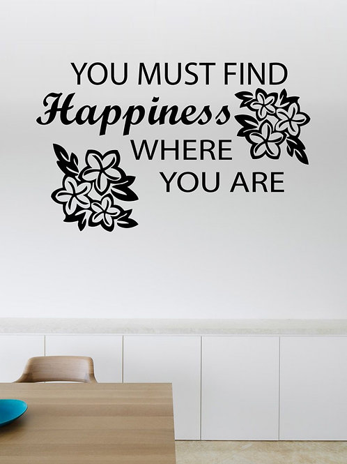 Home Quote #4 Decal Wall Sticker