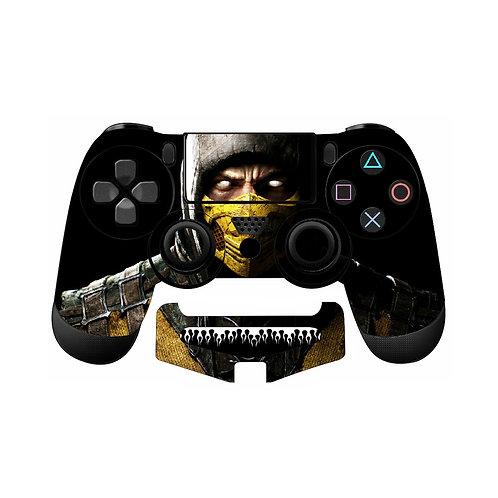 PS4 Mortal Kombat #1 Skin For PlayStation 4 Controller