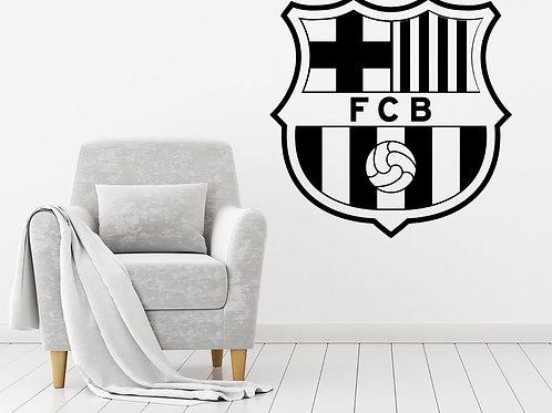 FC Barcelona Decal Wall Sticker