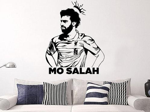 Mo Salah #1 Decal Wall Sticker