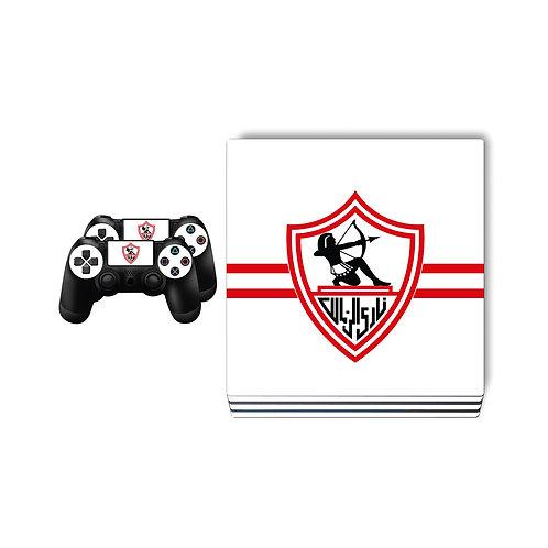 PS4 Pro Zamalek SC #1 Skin For PlayStation 4