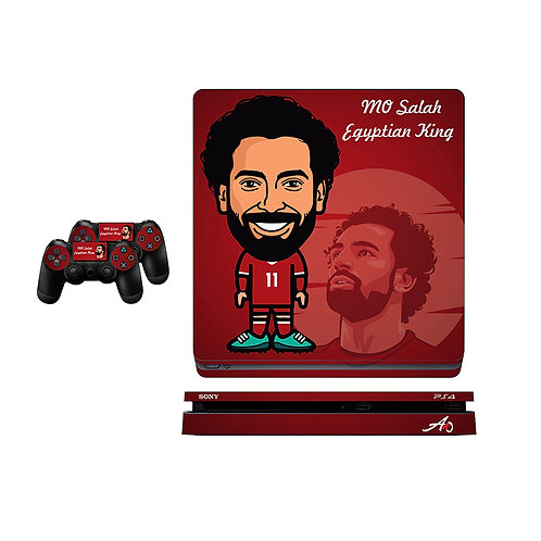 PS4 Slim Mo Salah #1 Skin For PlayStation 4