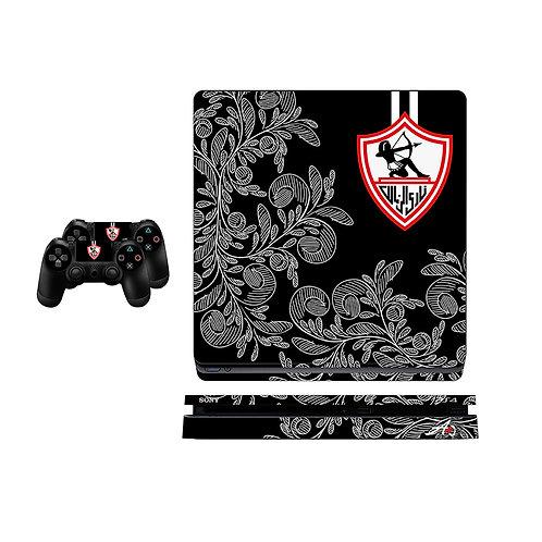 PS4 Slim Zamalek SC #2 Skin For PlayStation 4