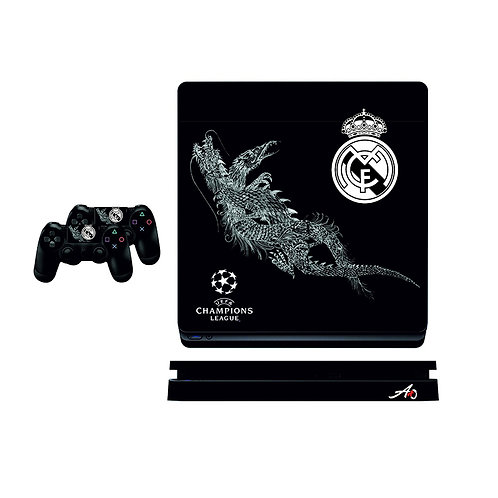 PS4 Slim Real Madrid CF #2 Skin For PlayStation 4