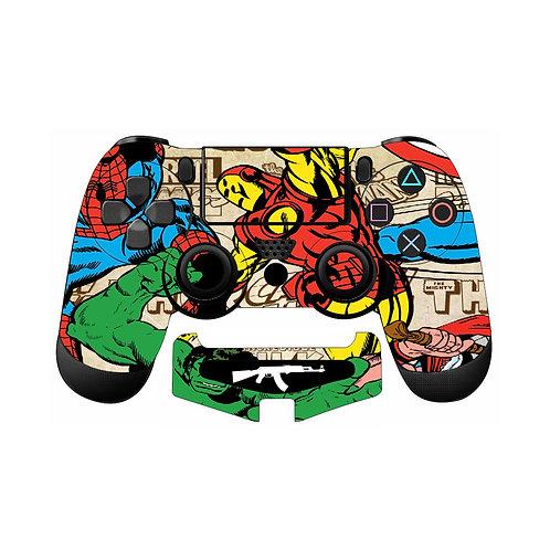 PS4 Marvel Skin For PlayStation 4 Controller