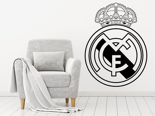 Real Madrid CF Decal Wall Sticker