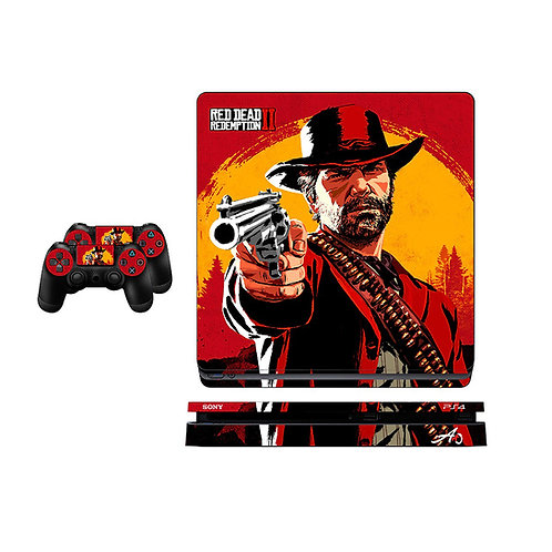 PS4 Slim Red Dead Redemption Skin For PlayStation 4