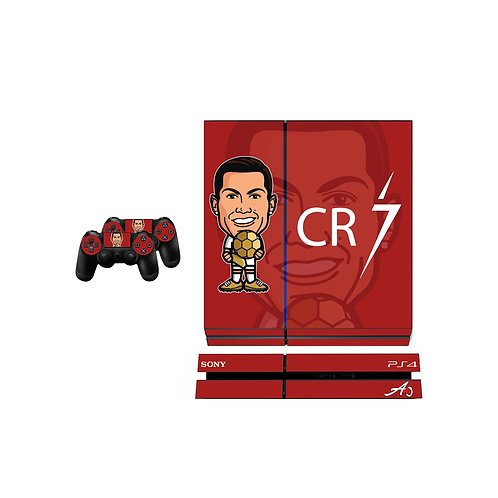 PS4 Standard CR7 #3 Skin For PlayStation 4