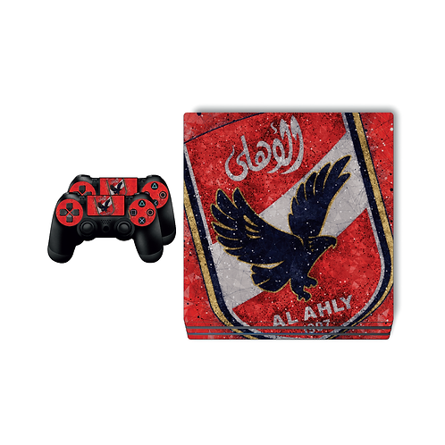 PS4 Pro Al Ahly SC #4 Skin For PlayStation 4