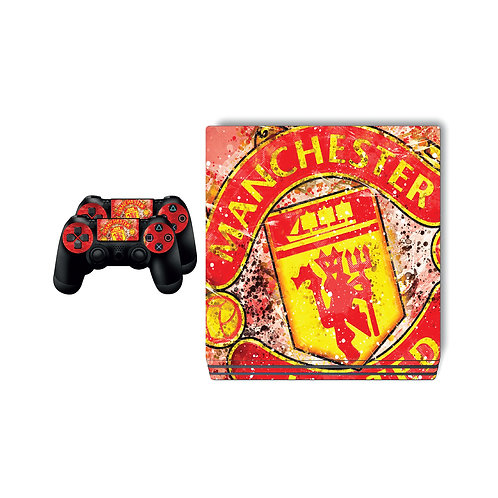 PS4 Pro Manchester United F.C. #1 Skin For PlayStation 4