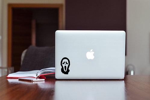 Scream Decal Sticker For Laptop & MacBook