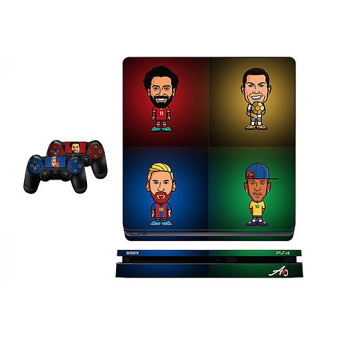 PS4 Slim UCL Champions Skin For PlayStation 4