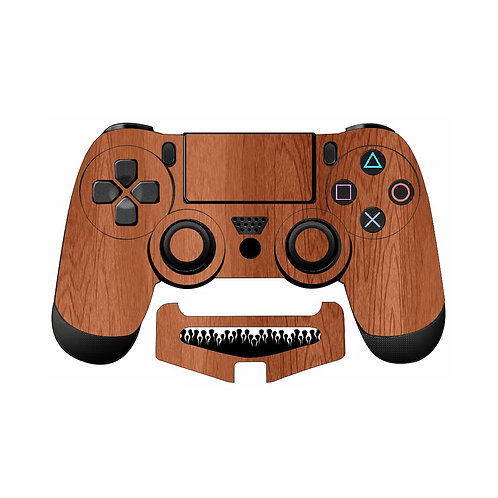 PS4 Wood Skin For PlayStation 4 Controller