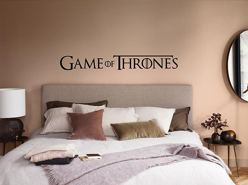 Game Of Thrones #1 Decal Wall Sticker
