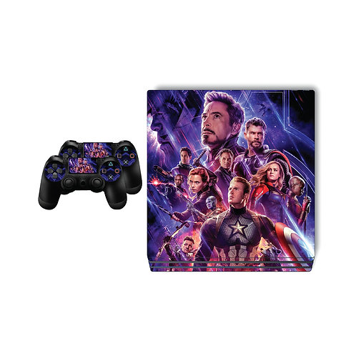 PS4 Pro The Avengers Skin For PlayStation 4