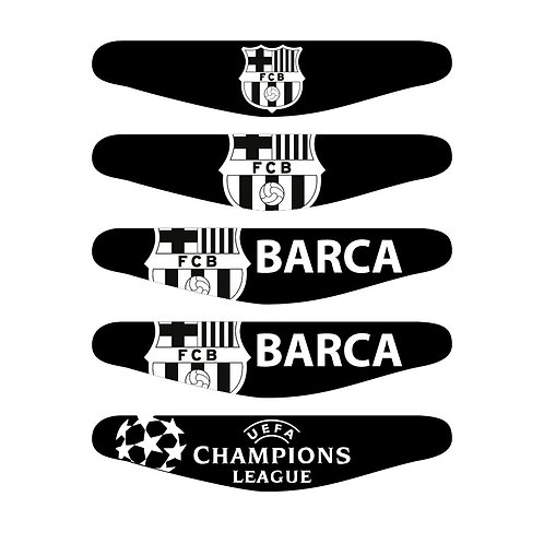5X PS4 FC Barcelona Light Bars Package PlayStation 4
