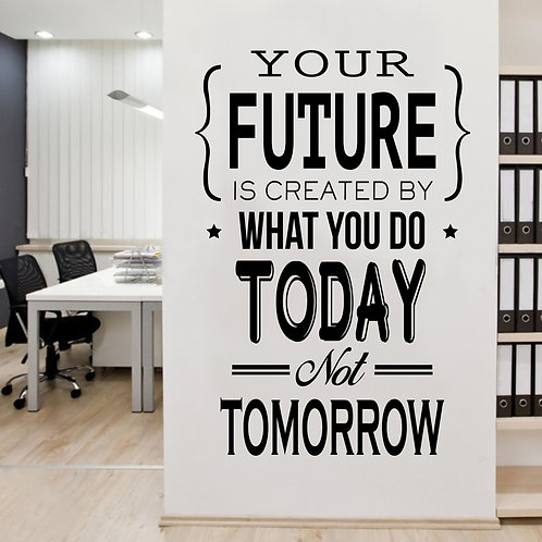 Office Quote #2 Decal Wall Sticker