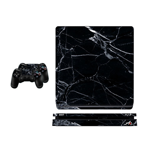 PS4 Slim Marble #1 Skin For PlayStation 4