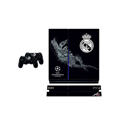PS4 Standard Real Madrid CF #2 Skin For PlayStation 4