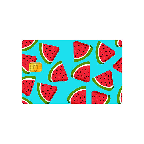 Watermelon #2 Debit Or Credit Card Skin Sticker
