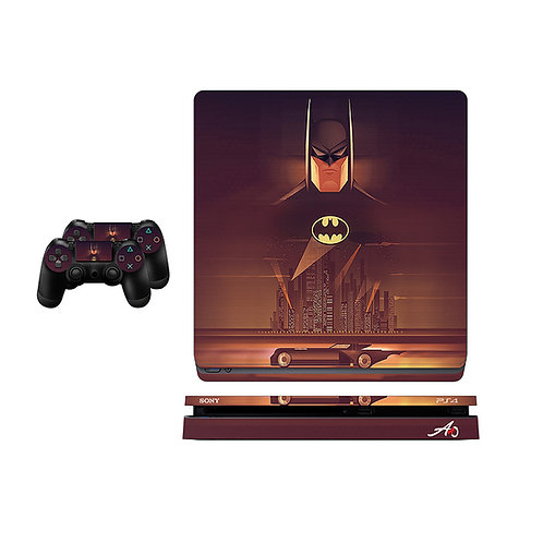 PS4 Slim Batman #4 Skin For PlayStation 4