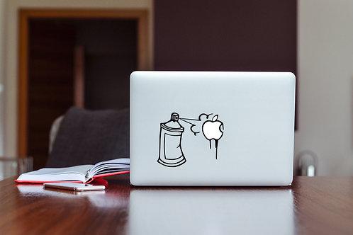 Spray Decal Sticker For Laptop & MacBook