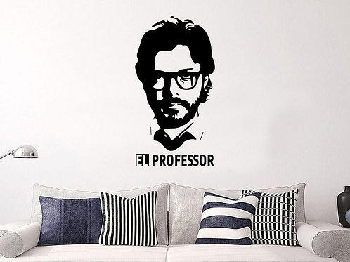 La Casa De Papel #3 Decal Wall Sticker