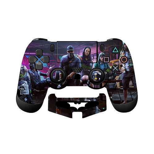 PS4 Watch Dogs Skin For PlayStation 4 Controller